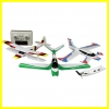 sonic model RTF fly 3 in 1(v-tail,canard and biplane)