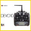 Walkera Devo 10 2.4G Transmitter 10ch Telemetry RC Transmitter Receiver W/o Rx